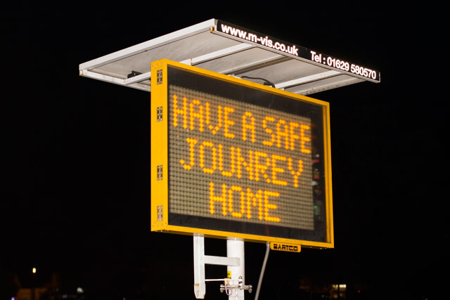 Lambeth Council Encourage All to Have a Safe Journey Home