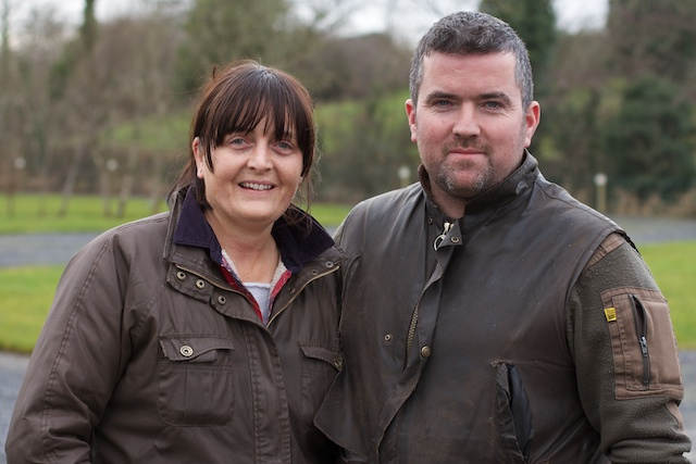 Sligo Farmers Margaret Finan & John Duignan at The Beehive ©gavinfreeborn