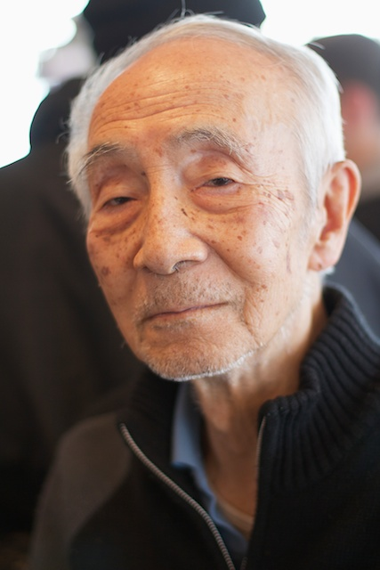 A retired Japanese Ad Man I met whilst warming up in a cafe